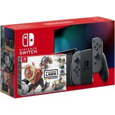 Nintendo Switch Gray (Upgraded version) + Nintendo Labo: Vehicle Kit