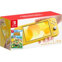 Nintendo Switch Lite Yellow + Игра Animal Crossing: New Horizons (русская версия)