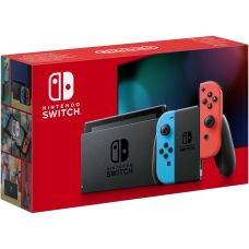 Nintendo Switch Neon Blue-Red (Upgraded version)
