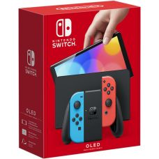 Nintendo Switch (OLED model) Neon Blue-Red