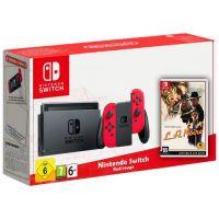 Nintendo Switch Red-Rouge + Игра L.A. Noire (русская версия)
