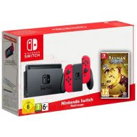 Nintendo Switch Red-Rouge + Игра Rayman Legends: Definitive Edition