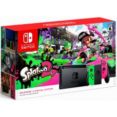 Nintendo Switch Splatoon 2 Special Edition + Игра Splatoon 2 (русская версия)