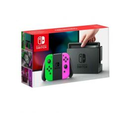 Nintendo Switch Neon Pink-Green