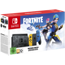 Nintendo Switch Fortnite Limited Edition (Upgraded version) (без ваучера на дополнения Wildcat Bundle & 2000 V-Bucks)
