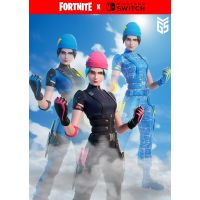 Fortnite Wildcat Bundle & 2000 V-Bucks (ваучер на скачивание) (Nintendo Switch)