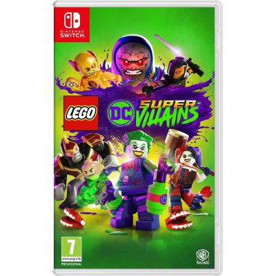 Lego DC Super-Villains (русская версия) (Nintendo Switch)