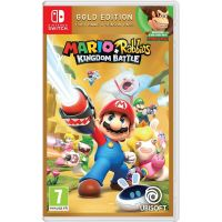 Mario + Rabbids Kingdom Battle Gold Edition (русская версия) (Nintendo Switch)