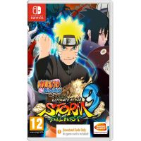Naruto Shippuden: Ultimate Ninja Storm 3 Full Burst HD (ваучер на скачивание) (русская версия) (Nintendo Switch)