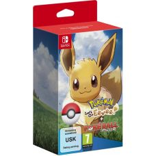 Pokémon: Let's Go, Eevee! (Nintendo Switch) + Poké Ball Plus