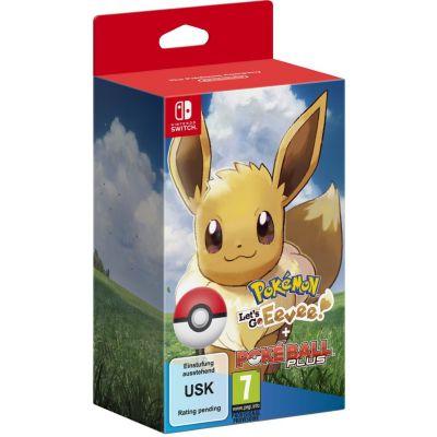 Pokémon: Let's Go, Eevee! (Nintendo Switch) + Poké Ball Plus