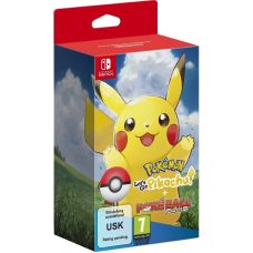 Pokémon: Let's Go, Pikachu! (Nintendo Switch) + Poké Ball Plus