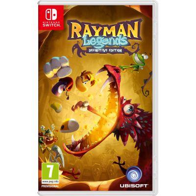 Rayman Legends: Definitive Edition (русская версия) (Nintendo Switch)