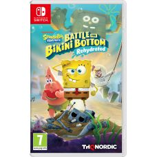 SpongeBob SquarePants: Battle for Bikini Bottom - Rehydrated (русская версия) (Nintendo Switch)