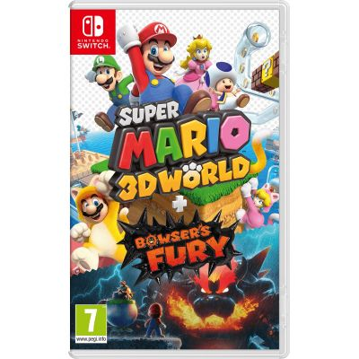 Super Mario 3D World + Bowser's Fury (русская версия) (Nintendo Switch)
