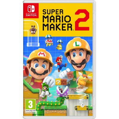 Super Mario Maker 2 (русская версия) (Nintendo Switch)