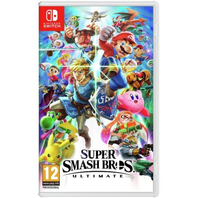 Super Smash Bros. Ultimate (русская версия) (Nintendo Switch)