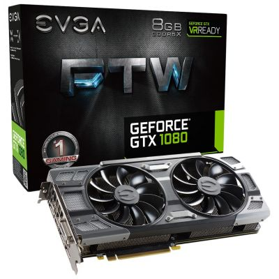 EVGA GeForce GTX 1080 FTW GAMING ACX 3.0 (08G-P4-6286-KR)