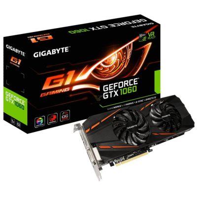 GIGABYTE GeForce GTX 1060 G1 Gaming 3G (GV-N1060G1 GAMING-3GD)