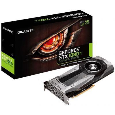 GIGABYTE GeForce GTX 1080 Ti Founders Edition 11G (GV-N108TD5X-B)