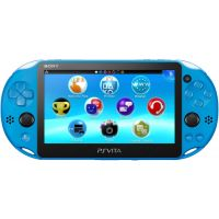 Sony PS Vita Slim 2000 Aqua Blue Wi-Fi + USB кабель + Мягкий Чехол