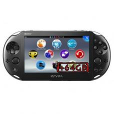 Sony PS Vita Slim 2000 Crystal Black Wi-Fi + Карта Памяти 64Gb + USB кабель + Мягкий Чехол