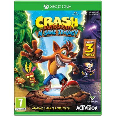 Crash Bandicoot N. Sane Trilogy (английская версия) (Xbox One)
