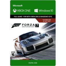 Forza Motorsport 7 (ваучер на скачивание) (русская версия) (Xbox One)