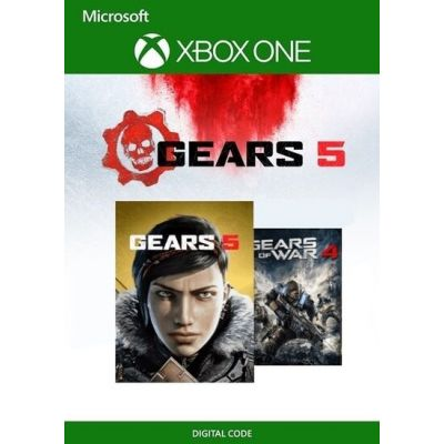 Gears 5 + Gears of War 4 (русские субтитры) (ваучер на скачивание) (Xbox One)