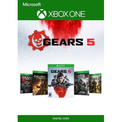 Gears of War Bundle (ваучер на скачивание) (русская версия) (Xbox One)