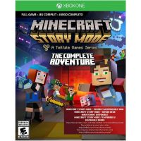 Minecraft: Story Mode - The Complete Adventure (ваучер на скачивание) (русская версия) (Xbox One)