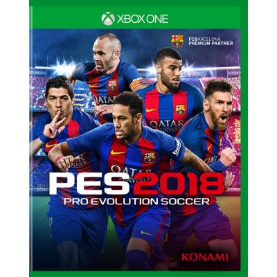 Pro Evolution Soccer 2018 (русская версия) (Xbox One)