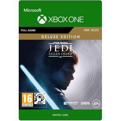Star Wars Jedi: Fallen Order Deluxe Edition (ваучер на скачивание) (русская версия) (Xbox One)