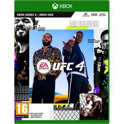 UFC 4 (русская версия) (Xbox One) (Б/У)