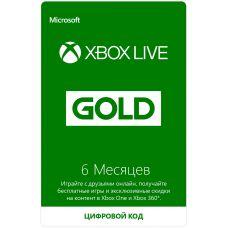 Xbox Live Gold (6 месяцев)