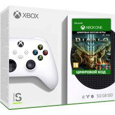 Microsoft Xbox Series S 512Gb + Diablo III: Eternal Collection (русская версия)