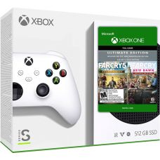 Microsoft Xbox Series S 512Gb + Far Cry 5 Gold Edition + Far Cry New Dawn Deluxe Edition (русская версия)