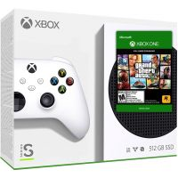 Microsoft Xbox Series S 512Gb + GTA V Premium Edition (русская версия)