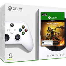 Microsoft Xbox Series S 512Gb + Mortal Kombat 11 Ultimate (русская версия)
