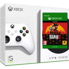 Microsoft Xbox Series S 512Gb + Red Dead Redemption 2 (русская версия)