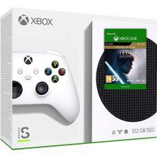 Microsoft Xbox Series S 512Gb + Star Wars Jedi: Fallen Order Deluxe Edition (русская версия)