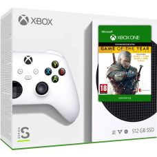 Microsoft Xbox Series S 512Gb + The Witcher 3: Wild Hunt Game of The Year Edition (русская версия)