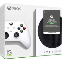 Microsoft Xbox Series S 512Gb + Xbox Game Pass Ultimate (3 месяца)