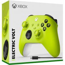 Microsoft Xbox Series X   S Wireless Controller with Bluetooth (Electric Volt) + USB Type-C кабель