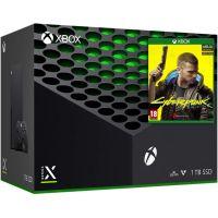 Microsoft Xbox Series X 1Tb + Cyberpunk 2077 (русская версия)