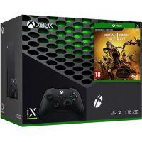 Microsoft Xbox Series X 1Tb + Mortal Kombat 11 Ultimate (русская версия) + доп. Wireless Controller with Bluetooth (Carbon Black)