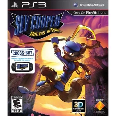 Sly Cooper: Thieves in Time (русская версия) (PS3)