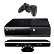 Xbox 360 Slim E 4Gb + Kinect + Игра Kinect Adventures + HDMI кабель - Freeboot + iXtreme LT+ 3.0 + 10 игр