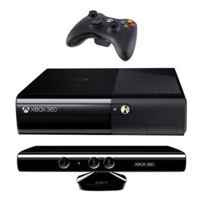 Xbox 360 Slim E 4Gb + Kinect + Игра Kinect Adventures + HDMI кабель - перепрошит iXtreme LT+ 3.0