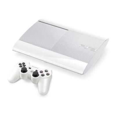 Sony PlayStation 3 Super Slim Classic White 500Gb